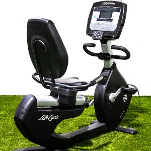 Life Fitness 95R Recumbent Bike w/ TV
