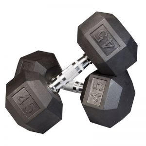BUGE Hex Dumbell Set