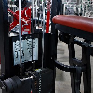 Cybex VR2 Ab Crunch (also available w/ red pads)
