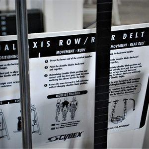 Cybex VR2 Dual Axis Row / Rear Deltoid