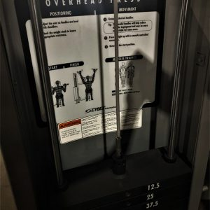 Cybex VR2 Overhead Press