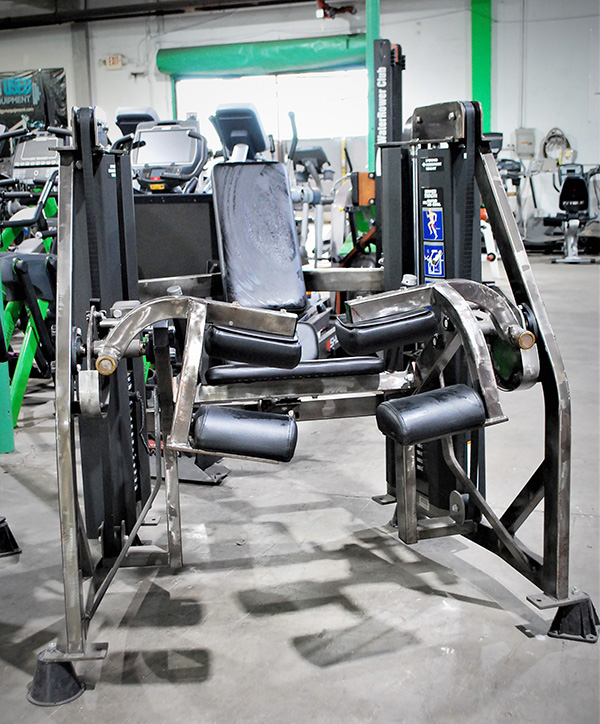 Hammer Strength MTS ISO Lateral Seated Leg Curl