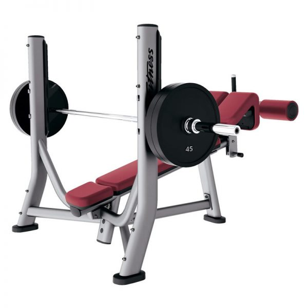 Life Fitness Olympic Decline Bench