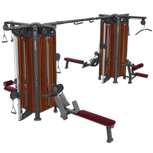 Life Fitness Signature MJ8 8 Stack Jungle Gym