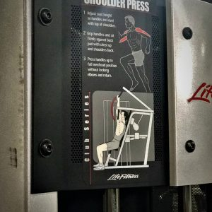 Life Fitness Club Series Shoulder Press