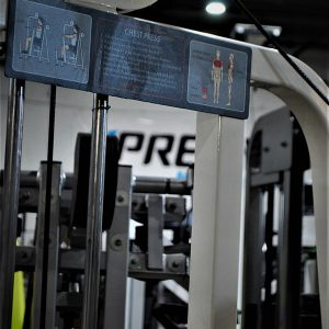 Life Fitness Pro Series Chest Press