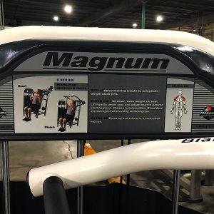 Magnum Biangular Shoulder Press