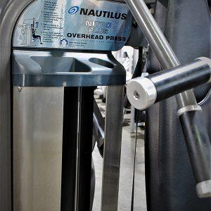 Nautilus Nitro Plus Overhead Press
