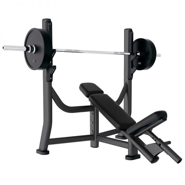 Life Fitness Olympic Incline Bench