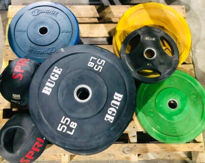 Choosing Between Bumper Plates & Olympic Plates