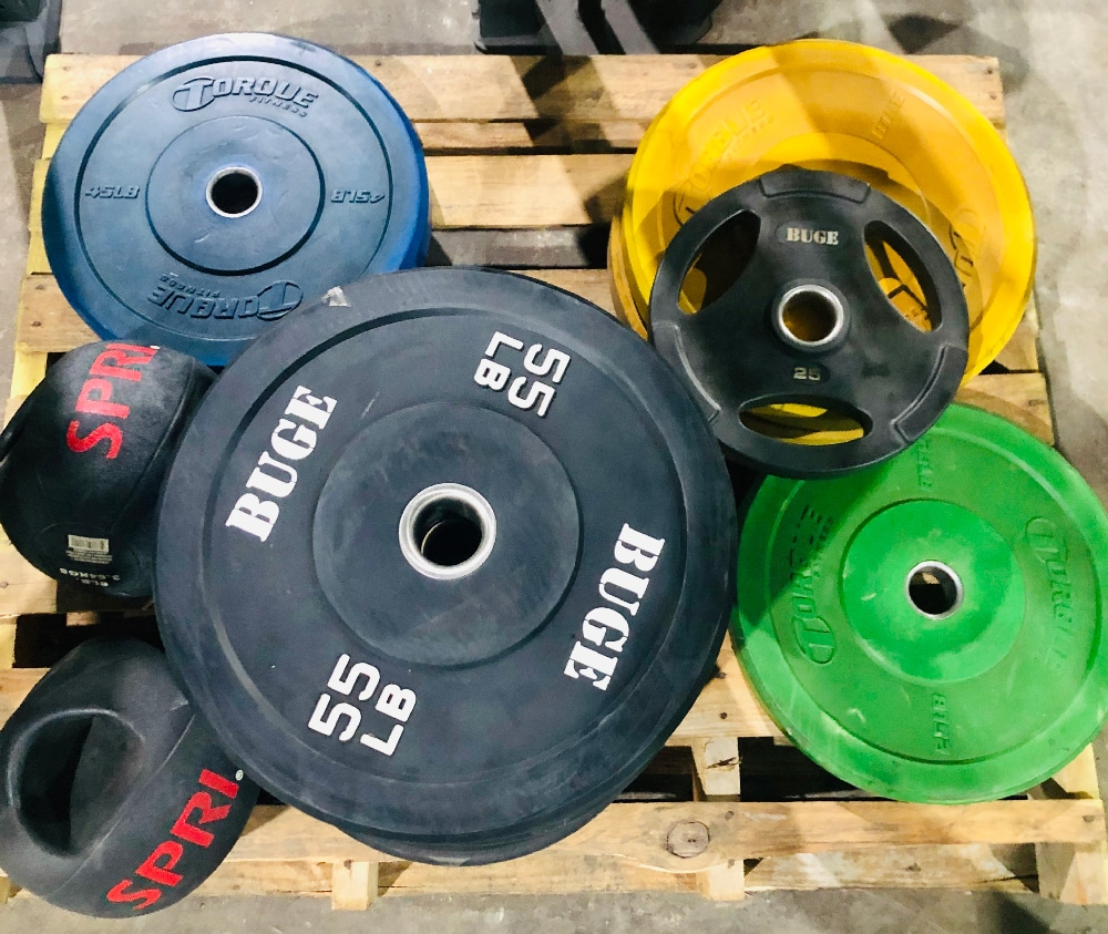 Choosing Between Bumper Plates & Olympic Plates
