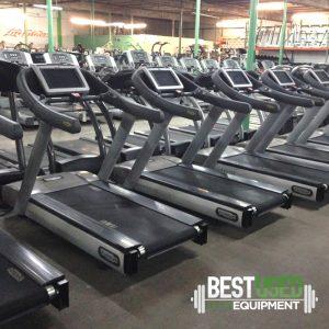 Technogym Excite 900 Treadmills with tv