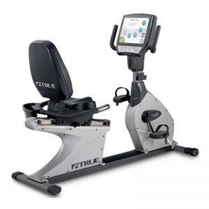 True Fitness CS800 Recumbent Bike w/ LCD Touch Screen