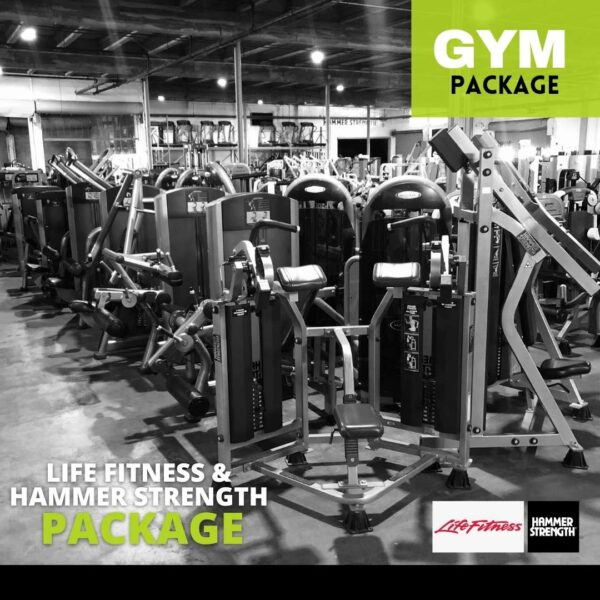 Life Fitness & Hammer Strength Package