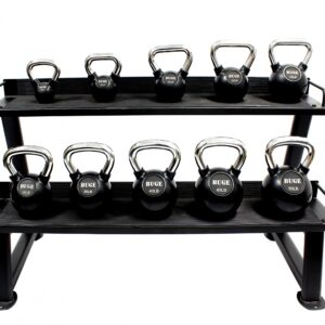 Buge Kettlebells Set with Rack