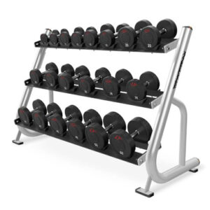 BUGE – Dumbbell Rack 3 Tier Pro LUX