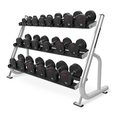 BUGE – Dumbbell Rack 3 Tier Pro LUX