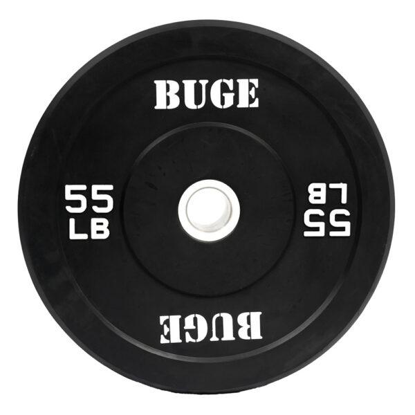 Buge 55 lbs Bumper Plate