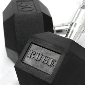 Buge Hex Dumbbells Set 5 Lbs – 50 Lbs