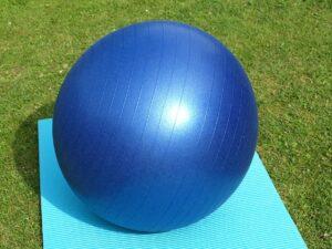 Exercise Ball Large Blue Gymnastics 300x225