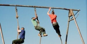 Marines Perform A Rope Climbing Exercise During A Track And Field Meet At The E7d435 1600 300x152